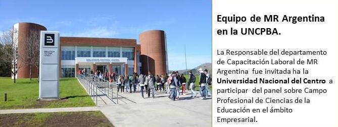 MR Argentina en Universidad Nacional del Centro